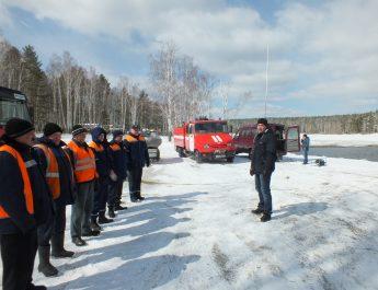 Один из этапов проведения командно-штабного учения на территории Асбестовского городского округа.