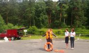 День безопасности в загородном лагере «Заря».