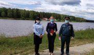 Проведен межведомственный рейд по безопасности на водных объектах