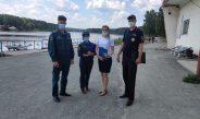 Проведен очередной  межведомственный рейд по безопасности на водных объектах Асбестовского городского округа