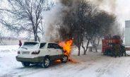 Пожарная безопасность при эксплуатации автомобиля.